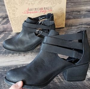 American Rag Joey Ankle Boots in Black